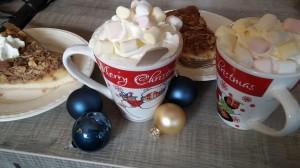 kerstboom chocolademelk