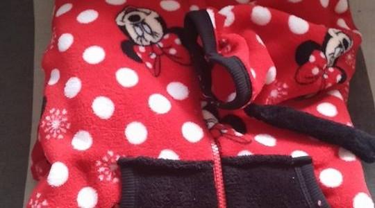 Op ontdekkingsreis naar mezelf, uitbuiken in een Miny Mouse pak