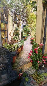tuinschilderij