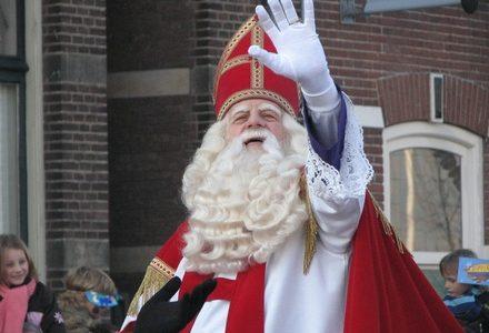 De intocht van Sinterklaas